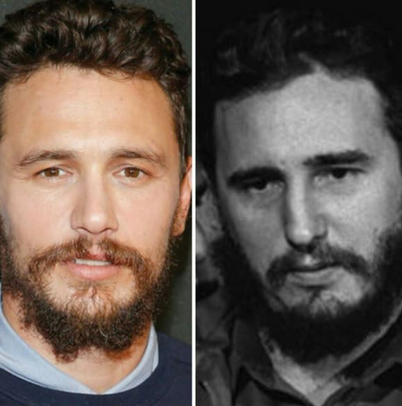 james-franco-fidel-castro