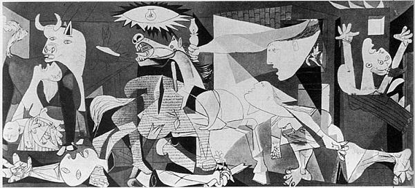 "To μεγάλο δημιούργημα του Pablo Picasso, η ""Guernica""."