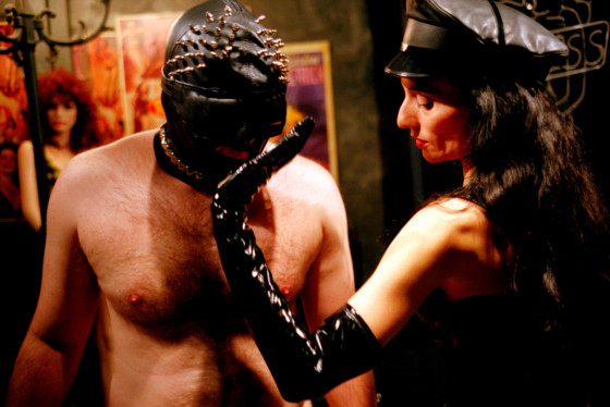 Susan Meiselas Mistress Delilah's Tender Touch II, The Role Play Room. Pandora's Box, New York City. USA. 1995. © Susan Meiselas | Magnum Photos